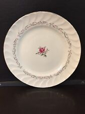"""Royal Swirl by Fine China of Japan, Pink Rose BREAD & BUTTER PLATE, 6 1/2"""""""
