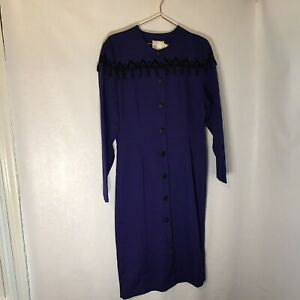 Vintage Jane Hamilton NWT tassel dress size 14