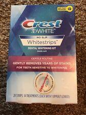Crest 3D White GENTLE ROUTINE ( 28 Strips 14 Trx ) Sensitive Whitening EXP: 2018