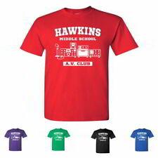 Hawkins Middle School A.V. Club Kids Tees Stranger Things Youth T-Shirts