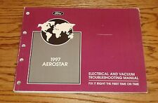 ford aerostar door locks 1997 ford aerostar electrical vacuum troubleshooting manual wiring diagram 97