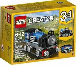 Lego Creator 31054 Blue Express 3 In 1 Building Toy NEW in box