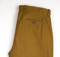 Tommy Hilfiger Hombre Delgado Pantalones Chinos Talla W36 L30 AMZ1044