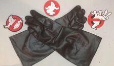 MEDIUM - Ghostbusters Prop Uniform Black Rubber Gloves for Belt & Proton Pack