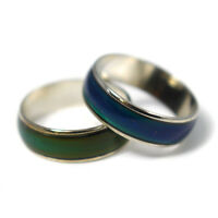 Amazing Energy Colour Changing Mood Ring & Mood Chart - 8 Sizes Available