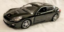 "RMZ City - 5"" Scale Model Porsche Panamera Turbo Black (BBUF555002B)"