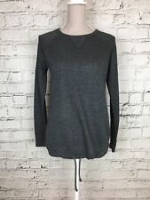 Women's NEXT SPORT Grey Long Sleeve Thin Activewear Sweater Top Size 8