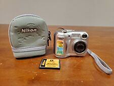 Nikon Coolpix E3100 Digital Camera With Case 16MB Card