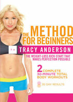 Tracy Anderson: The Method for Beginners DVD Tracy Anderson Keep Fit Exercise