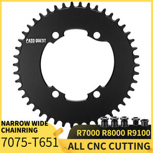 PASS QUEST R9100 Bicycle Chainring Round 11Speed Road Bike chain wheel Crankset