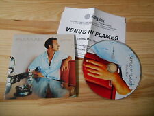 CD Pop Venus In Flames - Better Man (1 Song) LIPSTICK NOTES cb Presskit