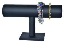 PORTE-BIJOUX Présentoir à bijoux support de montre pour similicuir noir NEUF