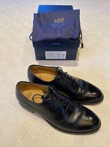 Cole Haan Men's Gramercy Derby Wholecut Dress Oxford Black Style C29837 Size 9 D