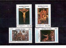 SIERRA LEONE 1985 SET 4 STAMPS #685/88 VF NH, EASTER !!