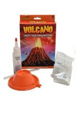 Kids Build Erupting Volcano Kit Create Eruption World Of Science Toy 8+ Gift New