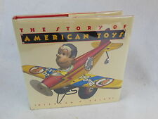 O'Brien - THE STORY OF AMERICAN TOYS - Puritans to Present - 1990 HC/DJ Illust'd
