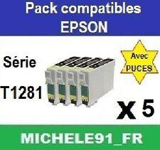Cartouches d'encre compatibles avec série 1285 t1285 t01285 imprimantes BX S SX