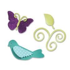 Sizzix Sizzlits Die Set 3PK - Birds & Butterflies Set