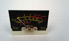 Icom IC-756 (Original)  S Meter  Working Pull