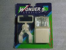 NIP Vintage 1970's Wonder Evasion Bicycle Light With Mounting Bracket