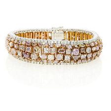 Pink Diamanten - Armband 23.72ct Natürlich Schicke Rosa Gemischte Farben