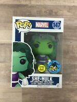 Funko POP! Marvel - She-Hulk #147 (Comikaze Exclusive, GITD) F03