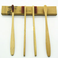 Eco-friendly Bamboo Toothbrush Charcoal Soft Bristles Bamboo Handle Oral Care