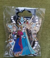 DSF DSSH Soda Fountain Frozen Jumbo Snowflake Stained Glass Elsa Anna Olaf Pin
