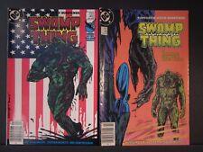 Swamp Thing Sophisticated Suspense, DC comics, #44 Jan 1986 VF, #45 Feb 1986 VF