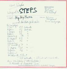 "7"" Steps/Hip Hip Hurra"