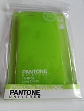 pantone universe iphone 6 plus travel case green new great colour