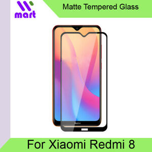 Xiaomi Redmi 8 Matte Tempered Glass Screen Protector Full Screen