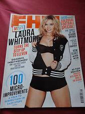 FHM Magazine Sept 2011 Laura Whitmore, Magdalena Sverlander, Sonisphere