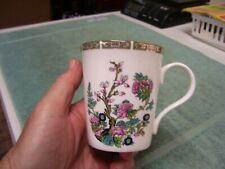 Crown Trent Fine Bone China Porcelain Coffee Tea Mug Floral Design England