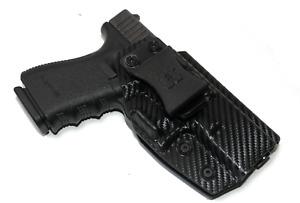 Premium IWB Kydex Gun Holster for Glock 19/19X/23/45 w/ Soft Suede Inner Lining