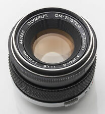 Olympus OM-System F.Zuiko Zuiko Auto-S Auto S 50mm 50 mm 1:1.8 1.8