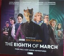 From The Worlds Of BBC Doctor Who THE EIGHTH OF MARCH cds 4 discs