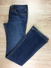 USED Womens 26R Big Star Denim Low Rise 30x33 Stonewashed Flare Distressed Jeans