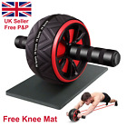 Pro Abs Roller Exercise Wheel Abdominal Core Strength Workout Muscle Cruncher