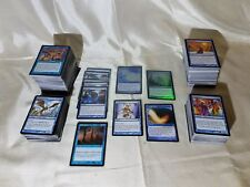 MTG THE GATHERING LARGE BLUE CARD LOT: VARIOUS EDITIONS & CONDITIONS: SOME RARE