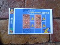 2004 BOXING KANGAROO PRESTIGE BOOKLET PANE COVER