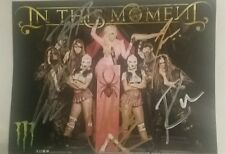 In This Moment signed photo