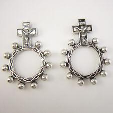 50pcs of Antique Silver Catholic Anello Preghiera Finger Decade Rosary Ring
