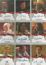 True Blood 2014 Collector's Set - 10 Autograph Cards & 20 Base Cards
