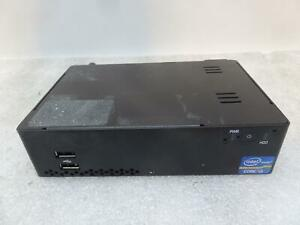2x Mini PC, Core I3-3217U 1.7GHz, 4GB, No SSD, Wi-Fi (No Antenna), 2x HDMI }