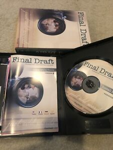 FINAL DRAFT Professional Scriptwriting Software Version 8 for Mac & Windows 2009