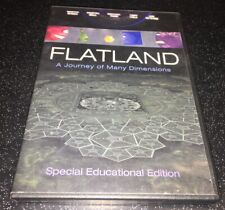 Flatland A Journey Of Many Dimensions DVD Special Educational Edition Rare OOP
