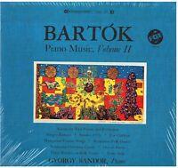 Bartok: Piano Music Volumen II (For Children,Allegro Barbaro) / Gyorgy Sandor LP