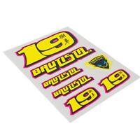 NEW WSBK Alvaro Bautista Sticker Set Official Product World Superbikes Stickers