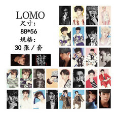 New 30pcs Set Kpop SUPER JUNIOR Siwon DongHae Ryeowook Lomo Card